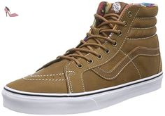 Vans Chapman Mid, Sneakers Hautes Mixte Enfant, Marron (Waxed Oak Buff/Black), 38 EU