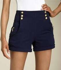 #LaROK #sailor #shorts #highrise #fashion #ardenb