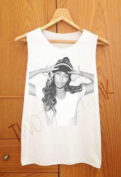 98aef376ec9 Beyonce Hip Hop Style Tank Top Tank Shirt Cute by TwoToneTank