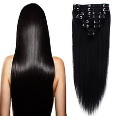 "US Stock 70g 18"" Jet Black 100% Real Natural Straight Ful... https://www.amazon.com/dp/B01LZ8IBM7/ref=cm_sw_r_pi_dp_x_PSpTyb90GD8VR"