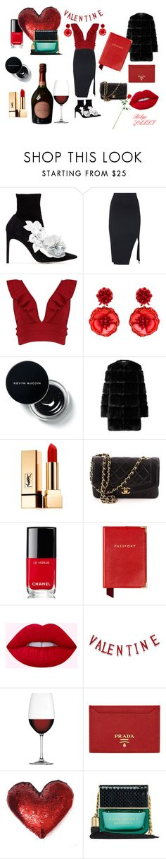 """""""''Rengini Belli Et''"""" by blgsll ❤ liked on Polyvore featuring Sophia Webster, Boohoo, Mignonne Gavigan, Givenchy, Yves Saint Laurent, Chanel, Aspinal of London, Nachtmann, Prada and Marc Jacobs"""