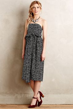 Tied Barcelona Dress #anthropologie #anthrofave