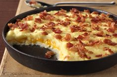 Cheddar-Mashed Potato Casserole recipe - a very popular PIN this week!!  Enjoy :)