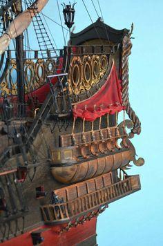 Blackbeards' Private Ship