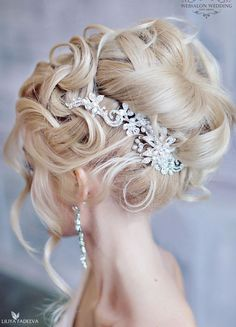 Glamorous Wedding Hairstyles with Elegance