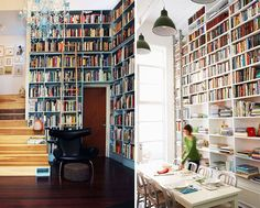 Strawberry Chic: Inspiration Thursday: Bookshelves