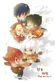 Little: Hiroshi, Haruka, Stella, Yataro and Natsuki