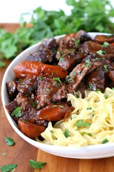 French Bistro Beef Stew is one of our most favorite, simple, comfort food dinners! French Bistro Beef Stew is one of our most favorite, simple, comfort food dinners! Chuck Roast Recipes, Beef Soup Recipes, Cooking Recipes, Gumbo Recipes, Oven Cooking, Italian Recipes, Mexican Food Recipes, Dinner Recipes, French Recipes Dinner