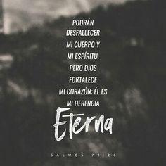 DIOS es: MI HERENCIA ETERNA...