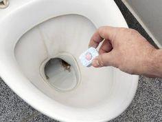 Avkalkning disktablett toalett