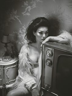 """Kate MossandLuka Isaacpull us into a tale of secrets and seduction, in """"Belle De Nuit"""" captured by Mert & Marcus for W Magazine, 03/17. Two enigmatic figures drawn together yet torn apart, this plays to the somber tones of silent era films.An ode to the artistry of decadence. Dress me up dress me down, this …"""