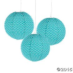 Turquoise Chevron Lanterns8.98 for 6-decorate for rehearsal?