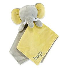 CARTERS SECURITY BLANKET DOG PUP BLUE MOMMY LOVES ME NEW GRAY NO RATTLE FRECKLES