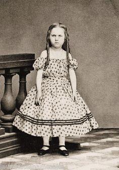 Set 4 Civil War Photo Prints Small Girls Nice Dresses | eBay