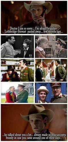 The Doctor & Brigadier Lethbridge