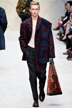 Brian Edward Millett - The Man of Style - Burberry Prorsum fall 2014