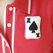 Ace of Spades Brooch