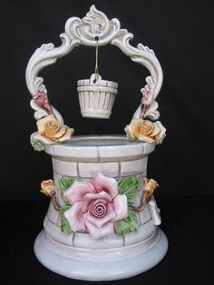 Capodimonte Wishing Well I WISH I MAY SEE MORE BEAUTIFUL THINGS ON PINTEREST