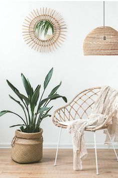 PEDRO - Rattan mirror Give in to the call of rattan for your interior! Material that has become essential today, i . Home Decor Mirrors, Entryway Decor, Living Room Decor, Bedroom Decor, Wall Decor, Photography Studio Spaces, Balinese Decor, Wicker Mirror, Deco Boheme
