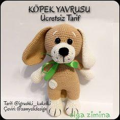 Baby Knitting Patterns, Crochet Patterns Amigurumi, Amigurumi Doll, Crochet Toys, Crochet Baby, Crochet For Boys, Double Crochet, Cow Toys, Crochet Disney