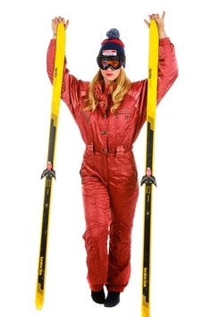 Shinesty's Metal Winner Ski Suit | Get your vintage ski gear and all manner of outrageous clothing at Shinesty.com