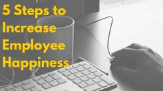 Want happier employees? In this article we'll give you 5 steps to increasing employee morale at your office. Employee Turnover, Happy Employees, Employee Morale, Employee Handbook, Employee Wellness, Starting A Company, Company Values, Ring True, Get Happy