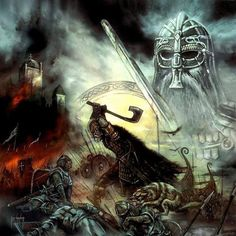 Fight like a Viking, die like a Viking.