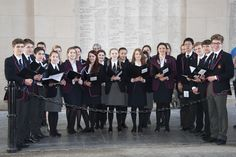 Performing as part of the Last Post at the Meningate is always a very special experience for our young choirs. Music Tours, Choirs, Bridesmaid Dresses, Wedding Dresses, Concert, School, Bride Maid Dresses, Bride Gowns, Wedding Gowns