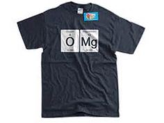 Childrens T-Shirt Science 10 Colours FOX Periodic Element Kids