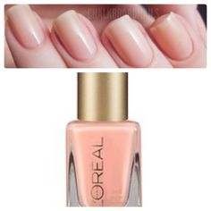 L'Oreal nail color: Sweet nothings