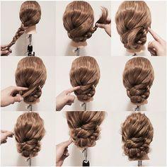 Cool braided bun