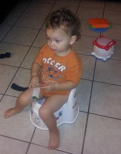 I think that knowing when to potty train and finding the right potty - http://motherbabychild.blogspot.com/2013/01/potty-training-2-year-old-toddler-boy.html - is harder than Potty Training a toddler boy. If the average potty training age is 18 months to 3 years, then why are so many of the potty chairs so low and small. Do they need to squish our baby's up like that? BabyBjorn pottys have good space and nice guards for boys, which one did you choose? Have any tips for other moms?
