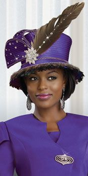 beautiful women suits and hats for divas