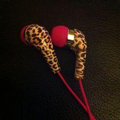 Leopard Ear Buds