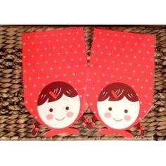Bolsitas Caperucita Roja idelaes para cumpleaños, fiestas,regalos. Seguro que sorprendes a los más peques con estas bolsitas llenas de ilusión.