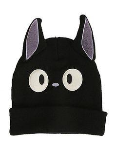 Studio Ghibli Kiki's Delivery Service Jiji Knit Watchman Beanie | Hot Topic