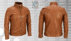C114 Leather Jacket, Jackets, Fashion, Studded Leather Jacket, Down Jackets, Moda, Leather Jackets, Fashion Styles, Fashion Illustrations