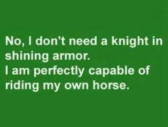 Who needs a knight?