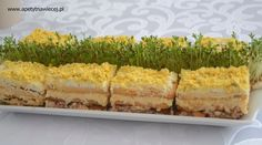 Sałatka - ciasto Yummy Mummy, Polish Recipes, Food Cakes, Easter Recipes, I Love Food, Macaroni And Cheese, Food To Make, Cake Recipes, Food And Drink