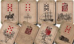 Madam Morrow's Fortune Telling Cards Lenormand