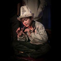 Young manaschy #Kyrgyzstan #culture
