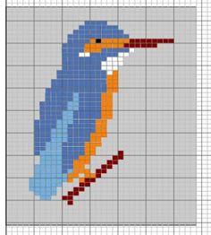 Photos of Kingfisher Intarsia Knitting Patterns