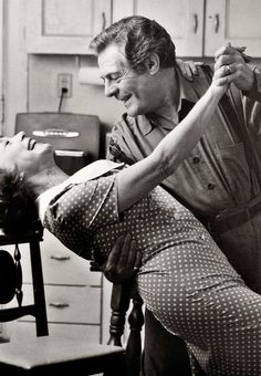Marcello Mastroianni and Shirley MacLaine