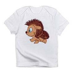 cuteness: Walking Hedgehog Infant T-Shirt: Cute Gift Business Products, Baby Crafts, Cute Gifts, Hedgehog, Infant, Christmas Gifts, Walking, Teddy Bear, Crafty