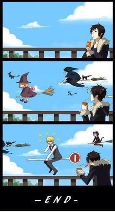 Nyanyan - Otaku do Ataku! Izaya Orihara, Shizaya, Durarara, Awesome Anime, Anime Love, Otaku, Anime Witch, Villainous Cartoon, Meanwhile In