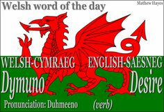 #Welsh word of the day: Dymuno/ #Desire