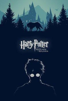 Harry Potter and the Prisoner of Azkaban - movie poster - Cameron K. Lewis
