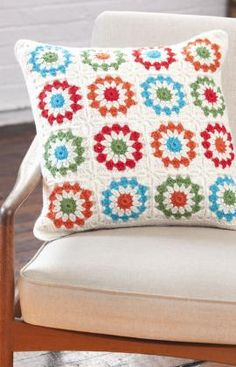 I just love this Copenhagen pillow made with Full o' Sheep yarn.  Someday this WILL be in my home!