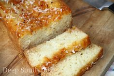 My husband's favorite bread -- Coconut Orange Marmalade Bread - a lightly sweetened, quick bread, made with orange marmalade and coconut, infused both in the bread batter as well as to glaze the top.