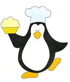 aplike için penguen deseni